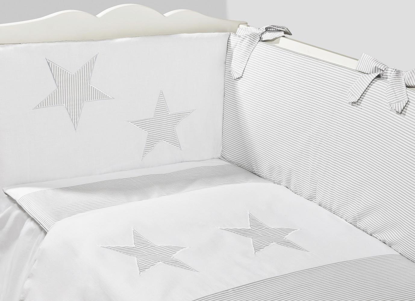 Conjunto de Protector y Funda Nórdica Maxi   Colección Estrella