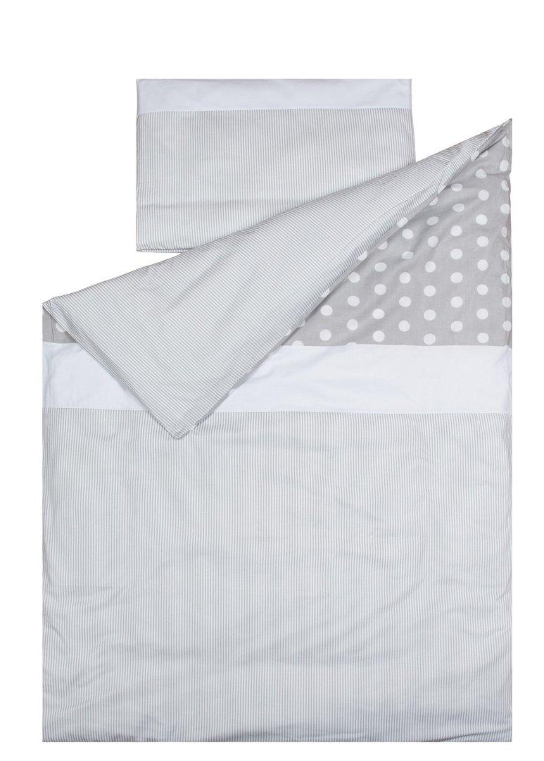 Funda n rdica para cama colecci n lunares y l neas for Funda nordica cama 80