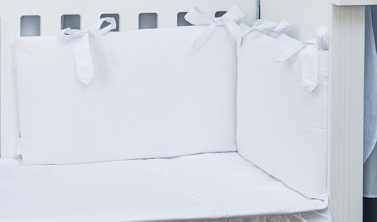Conjunto de Protector y Funda Nórdica Maxi +Relleno Bordado Blanco