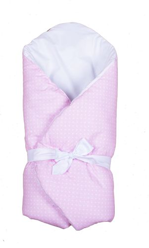 Swaddle Wrap for newborn - Pink & White Collection - Vizaro