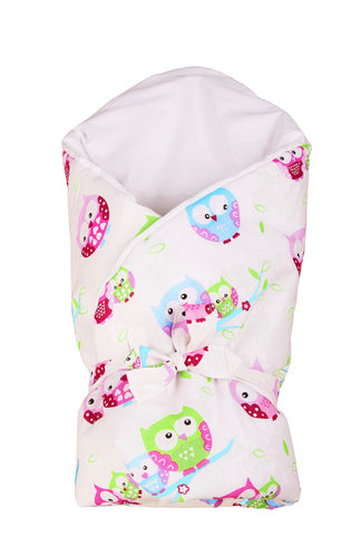Swaddle Wrap for newborn - Little Owls Collection - Vizaro