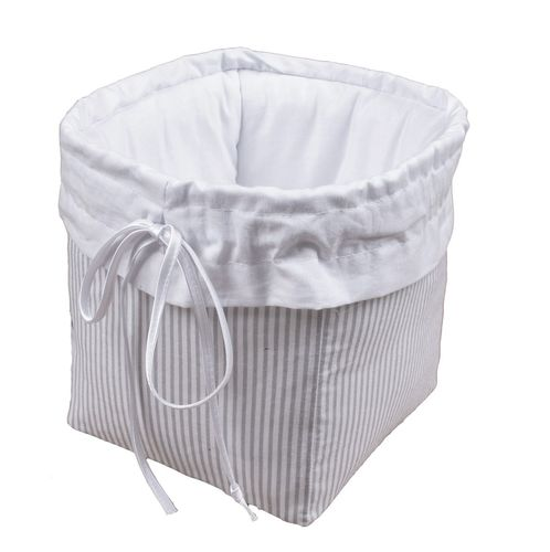 Premium Storage Basket - Grey Stripes Collection - Vizaro