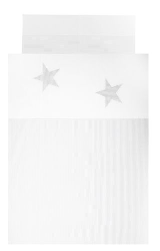 Duvet cover bedding set for Toddler Bed - Great Laced Star Collection - Vizaro