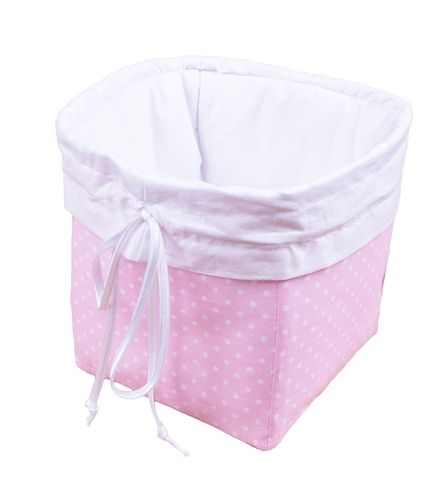 Premium Storage Basket - Pink & White Collection - Vizaro