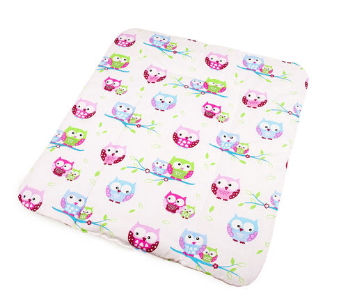 Padded Changing Mat - Little Owls Collection - Vizaro