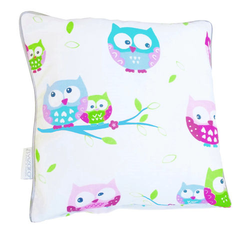 Pillowcase for baby room Decor - Little Owls Collection - Vizaro