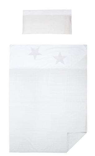 3 piece Bedding Set of sheets for Cot Bed - Great Laced Star Collection - Vizaro