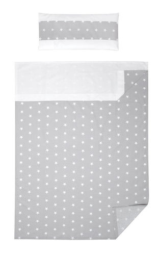 3 piece Bedding Set of Sheets for Cot Bed - Little Stars Collection