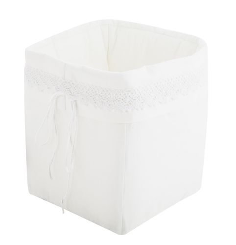 Premium Storage Basket - White Lace Collection - Vizaro