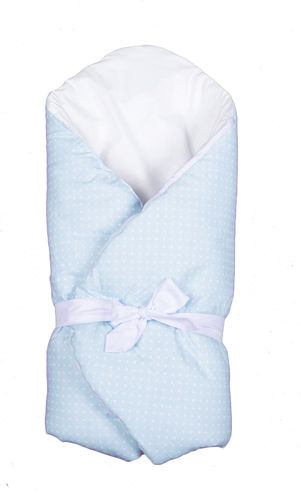 Swaddle Wrap for newborn - Blue & White Collection - Vizaro