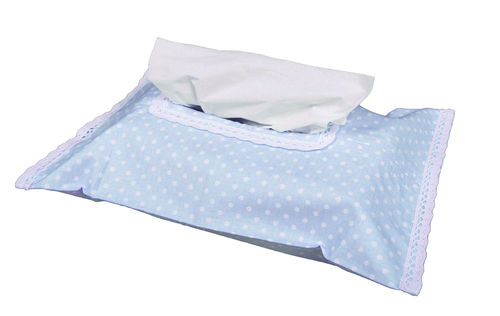 Baby Wipes Case Cover - Blue & White Collection - Vizaro