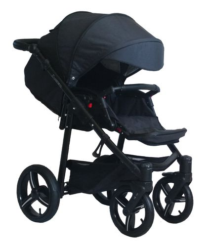 Vizaro Onyx - Black & Black Chassis - ONLY Pushchair