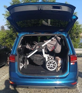 Plegar Vizaro y meterlo en el maletero del coche