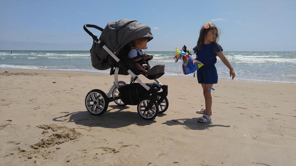 Vizaro El Mejor Cochecito De Bebé Para Disfrutar De La Playa